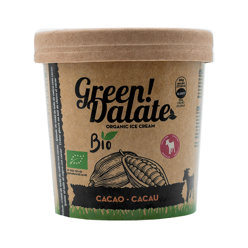 Helado Cabra Green Dalate con Cacao 350ml