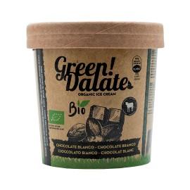 Helado Green Dalate Choco Blanco con Pistachos